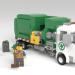 LEGO Ideas Automated Garbage Truck (3)