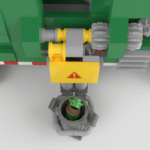 LEGO Ideas Automated Garbage Truck (4)