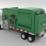 LEGO Ideas Automated Garbage Truck (5)