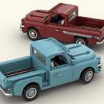LEGO Ideas Gmc Blue Chip 1957 (2)