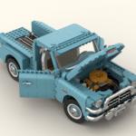 LEGO Ideas Gmc Blue Chip 1957 (9)