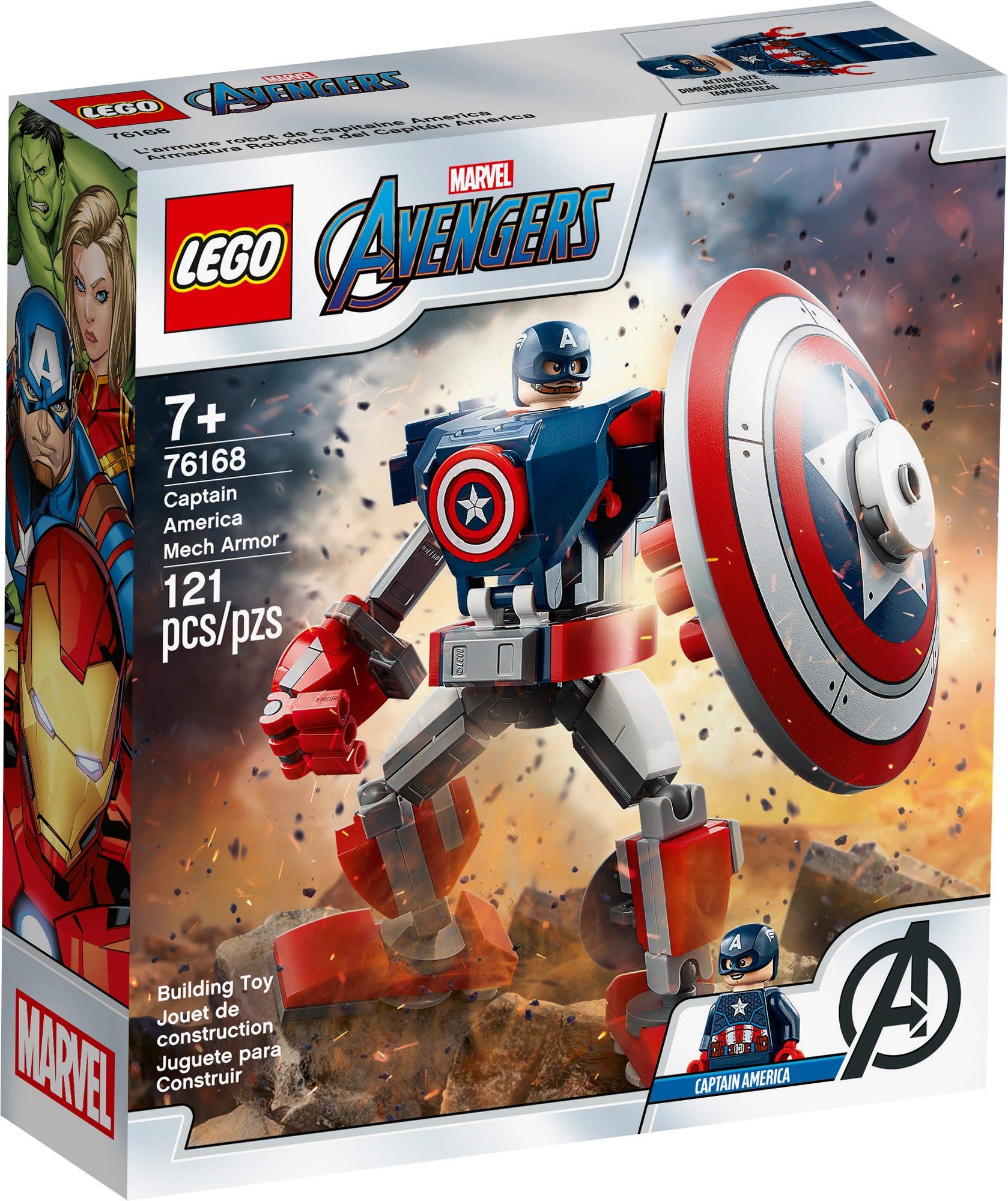 LEGO Marvel 76168 Captain America Mech (2)