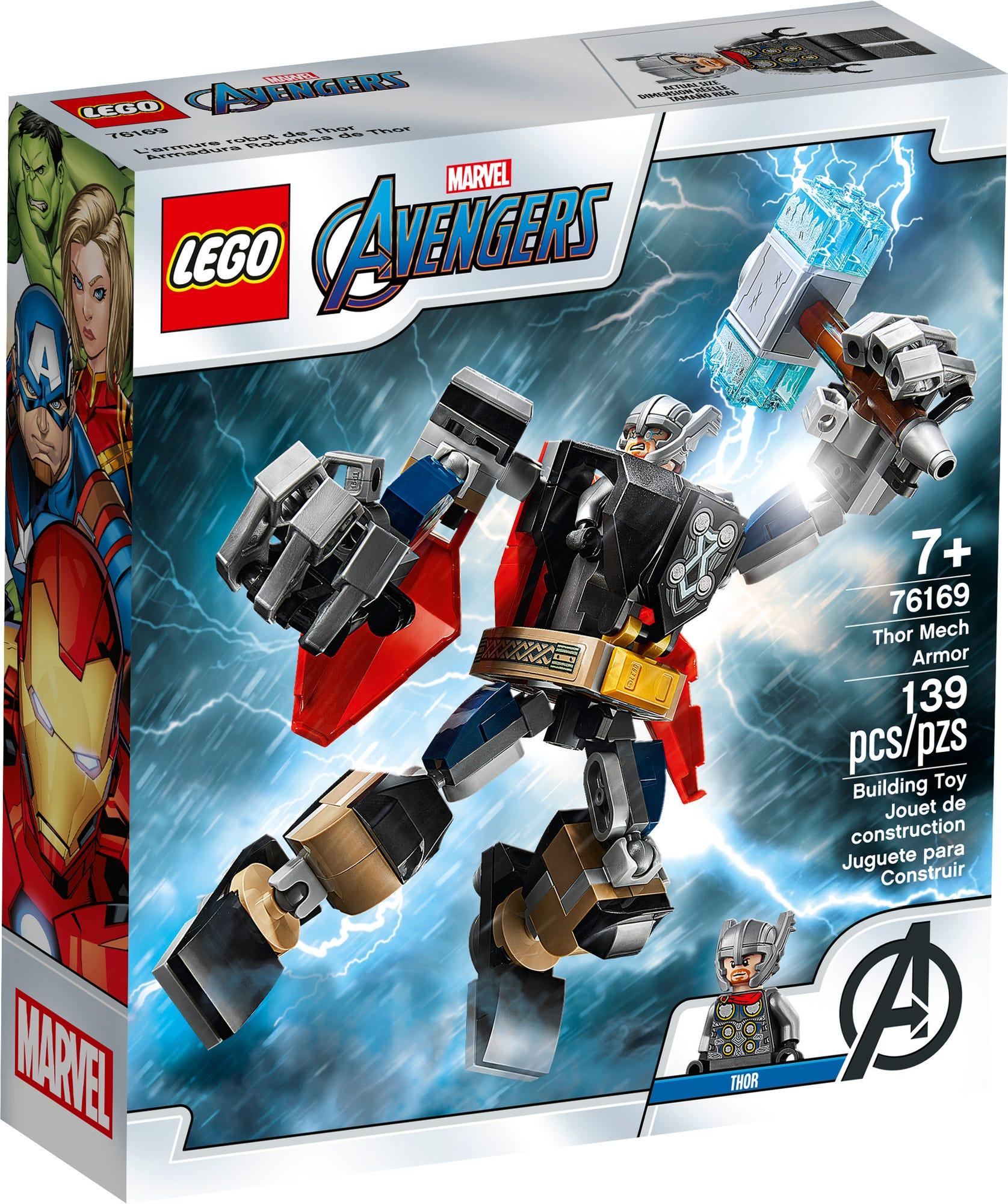 LEGO Marvel 76169 Thor Mech Armor (2)
