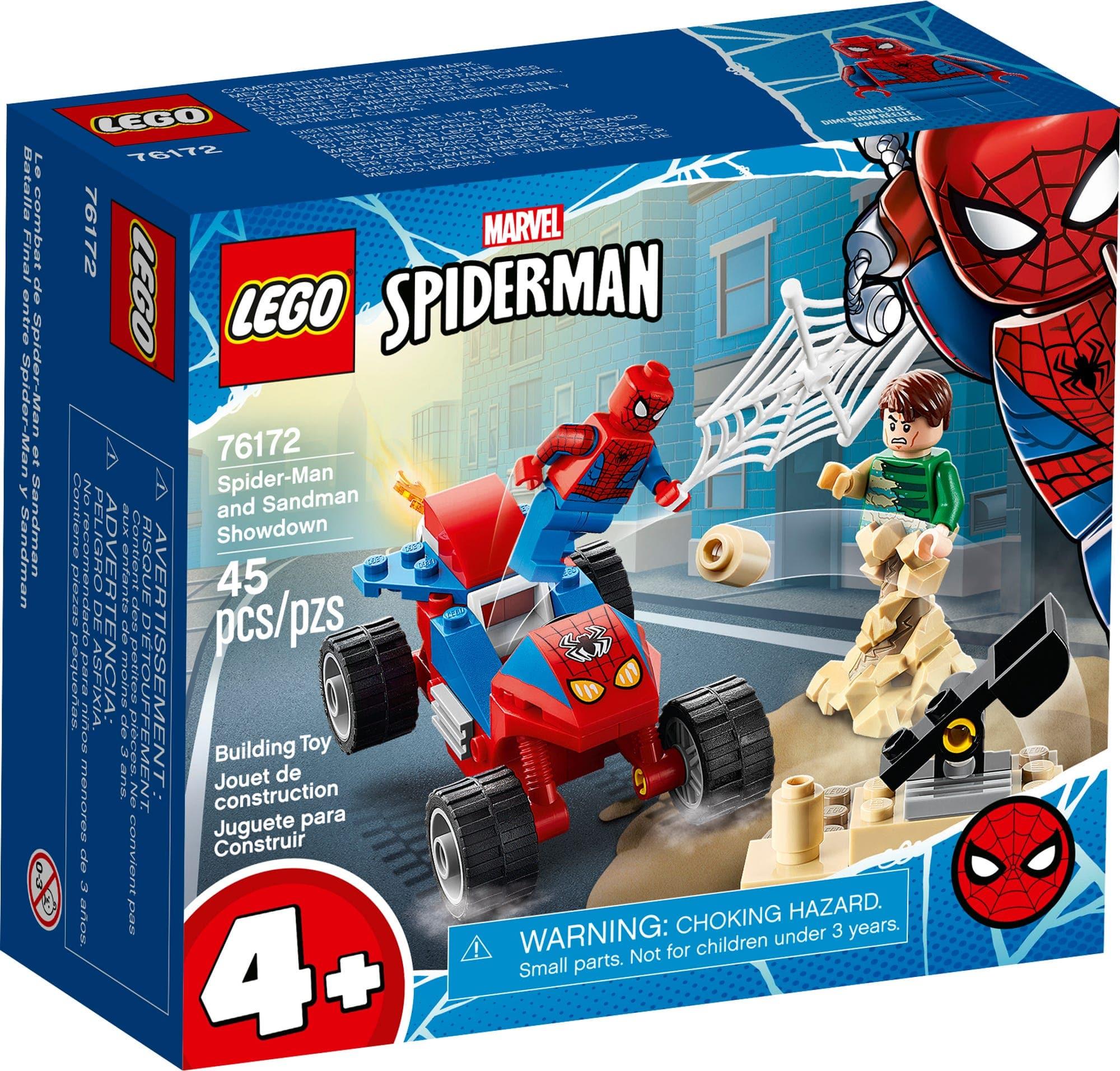 LEGO Marvel 76172 Spider Buggy Vs Sandman (2)