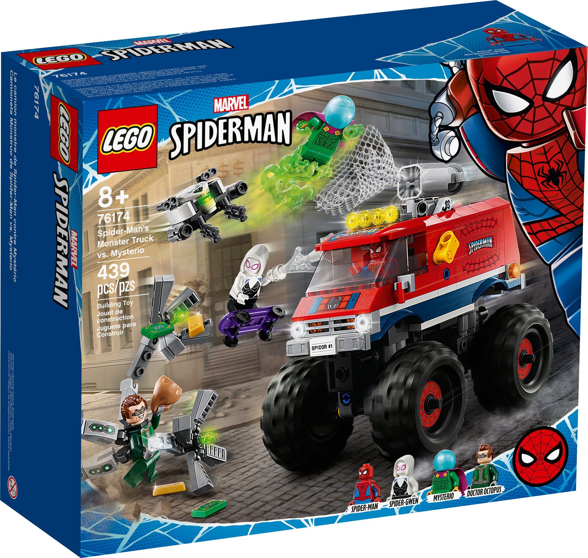LEGO Marvel 76174 Spider Man Monster Truck (2)