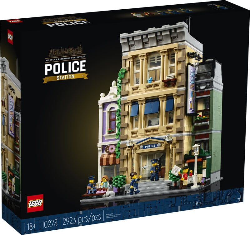 LEGO Modular Building 10278 Polizeistation 1