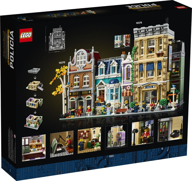 LEGO Modular Building 10278 Polizeistation 2