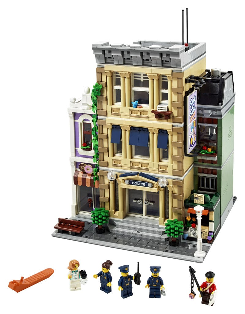 LEGO Modular Building 10278 Polizeistation 3