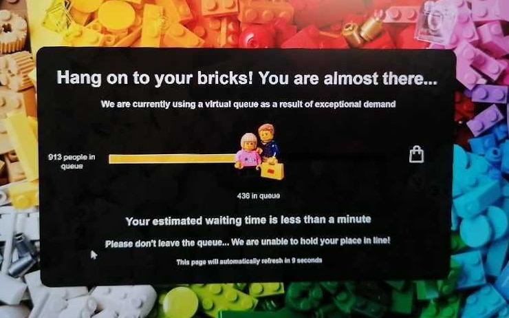 LEGO Online Shop Warteschlange 02