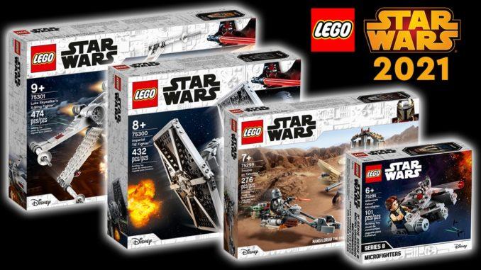 LEGO Star Wars 2021 Neuheiten