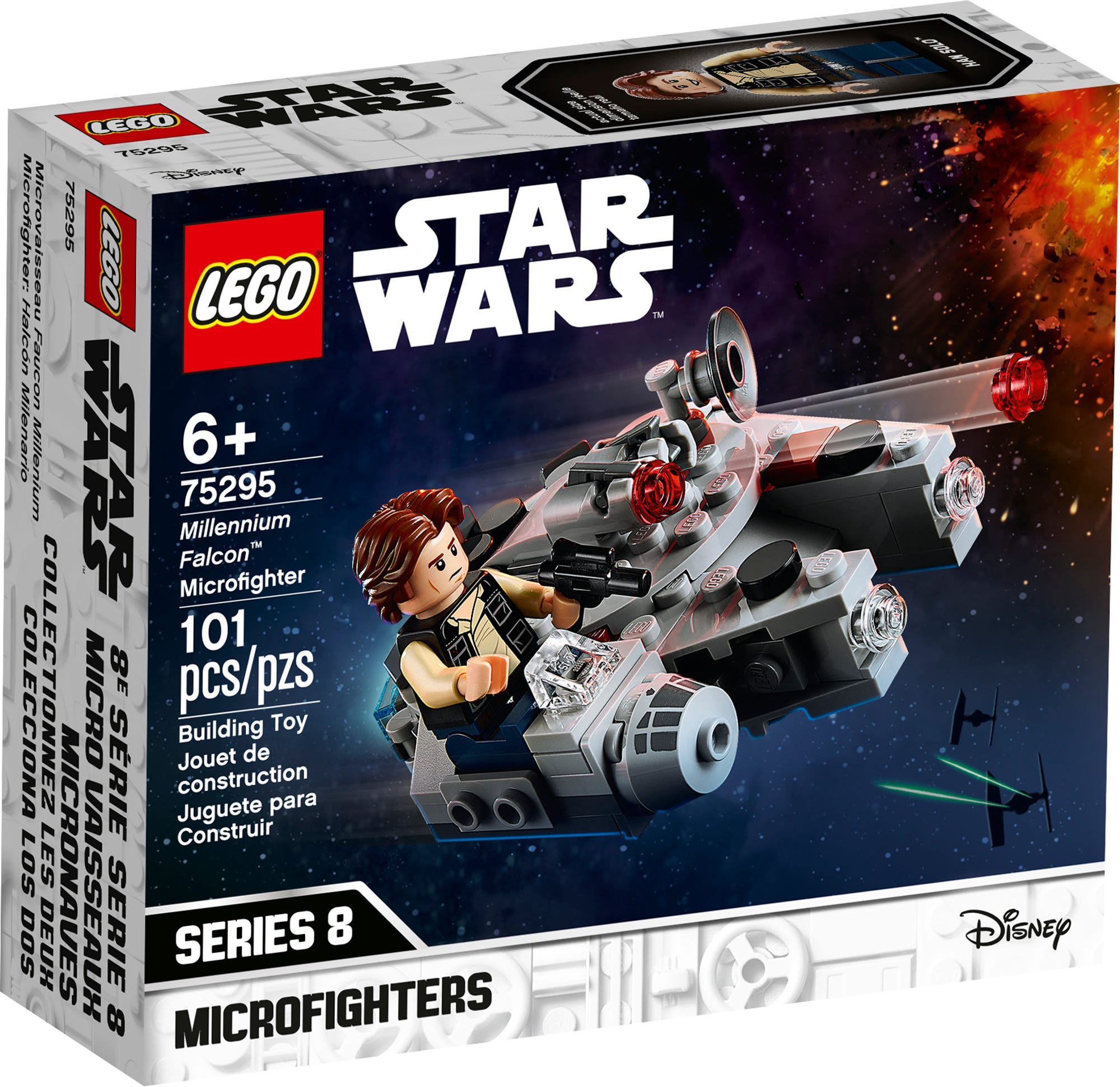 LEGO Star Wars 75295 Millennium Falcon Microfighter 4