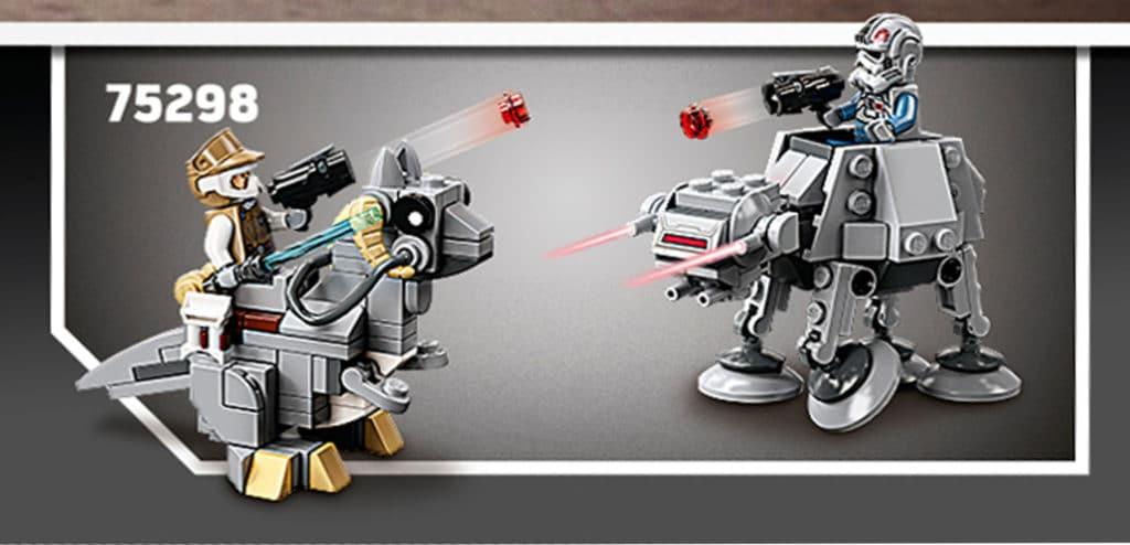 LEGO Star Wars 75298 Tauntaun At At Microftighter