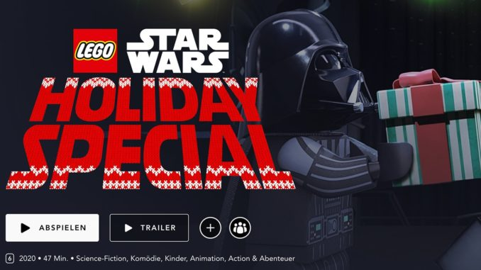 LEGO Star Wars Holiday Special Stream