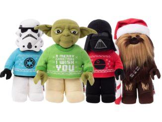LEGO Star Wars Plueschfiguren Weihnachten 2020
