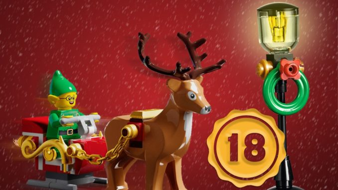 LEGO Stonewars Adventskalender Tuerchen 18
