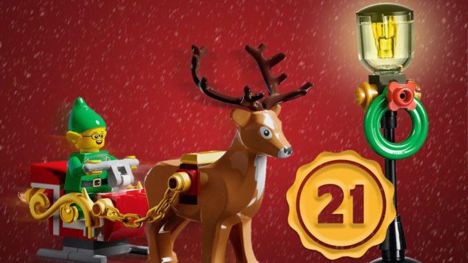 LEGO Stonewars Adventskalender Tuerchen 21