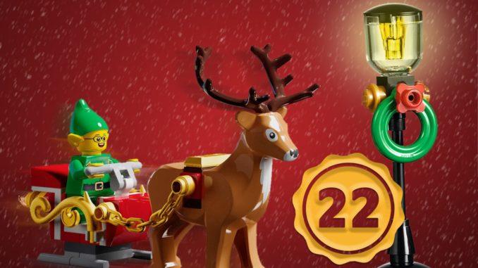 LEGO Stonewars Adventskalender Tuerchen 22