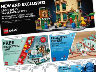 LEGO Store Kalender Us Dezember Titel