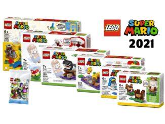 LEGO Super Mario 2021 Titelbild