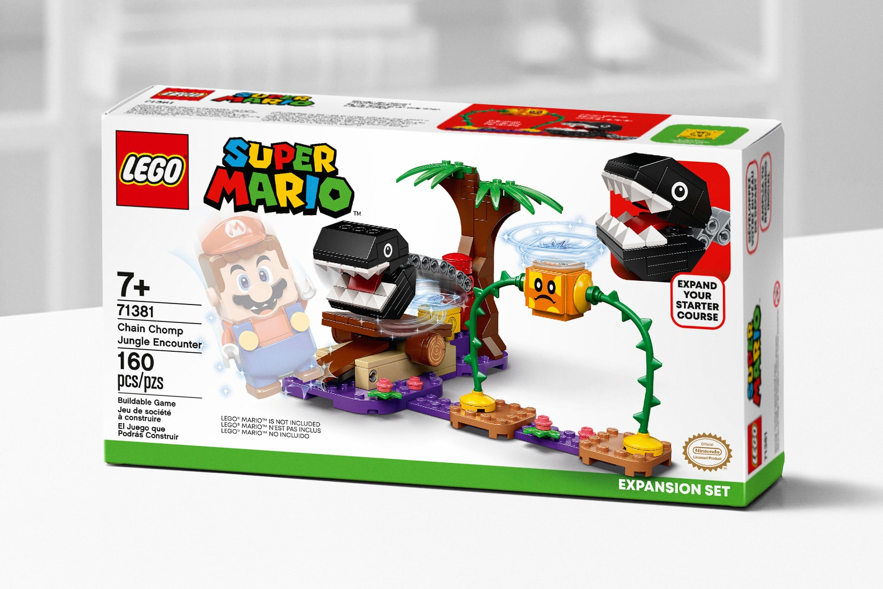 LEGO Super Mario 71381 Chain Chomp Jungle Encounter 1