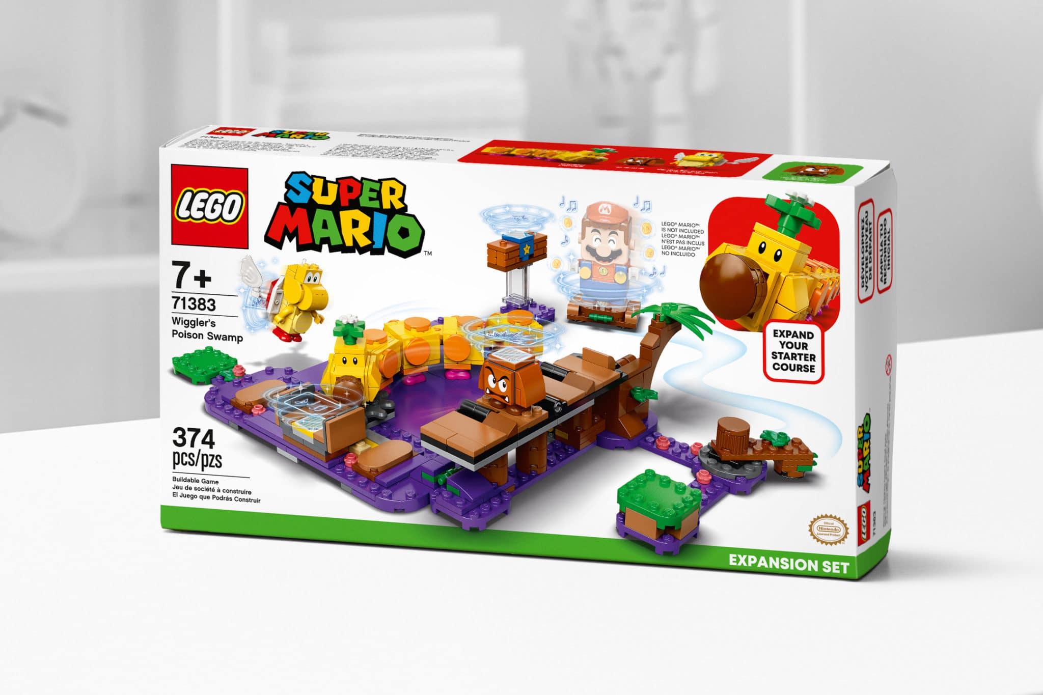 LEGO Super Mario 71383 Wigglers Poison Swamp 6