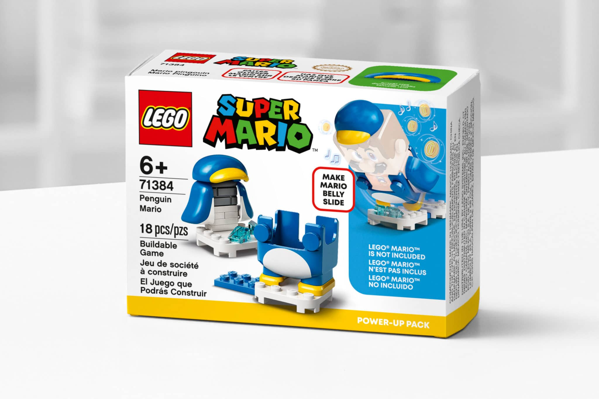 LEGO Super Mario 71384 Penguin Mario Power Up 3