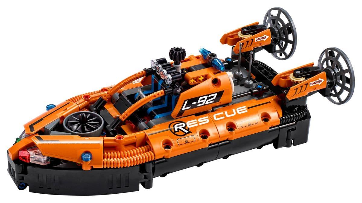 LEGO Technic 42120 Luftkissenboot Für Rettungseinsätze 2