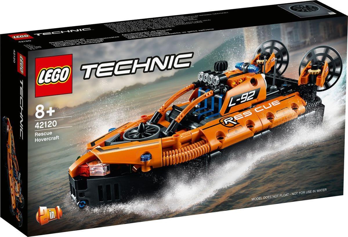 LEGO Technic 42120 Luftkissenboot Für Rettungseinsätze 3