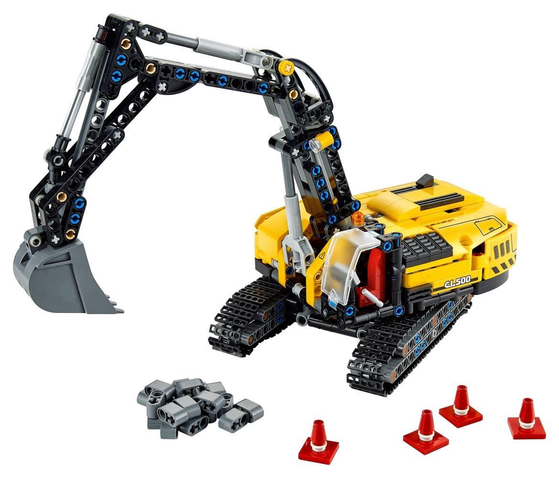 LEGO Technic 42121 Hydraulikbagger 2