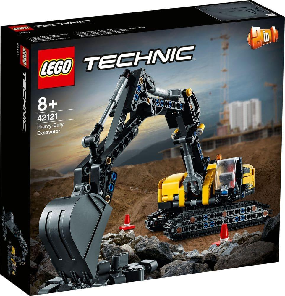LEGO Technic 42121 Hydraulikbagger 3