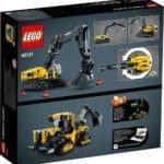 LEGO Technic 42121 Hydraulikbagger 4
