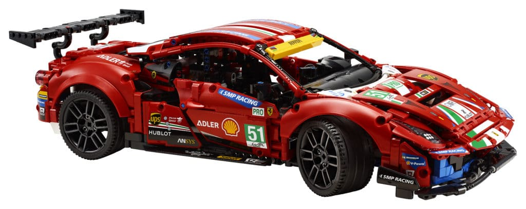 LEGO Technic 42125 Ferrari (10)
