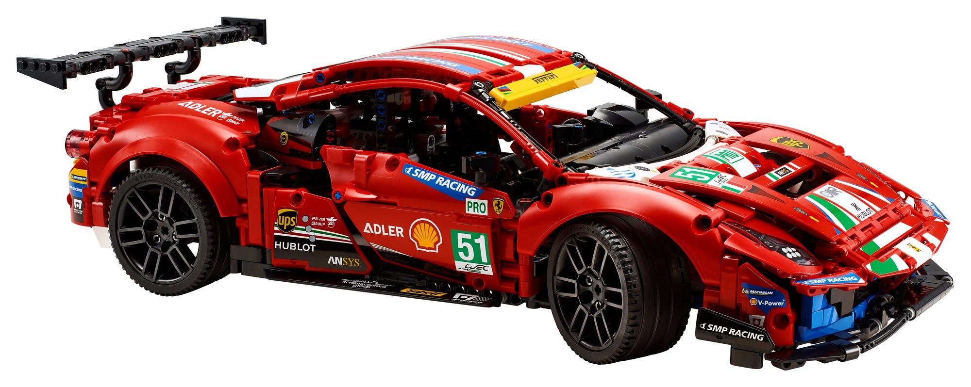 LEGO Technic 42125 Ferrari 488 Gte (3)