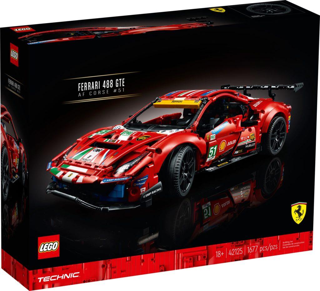 LEGO Technic 42125 Ferrari 488 Gte (4)