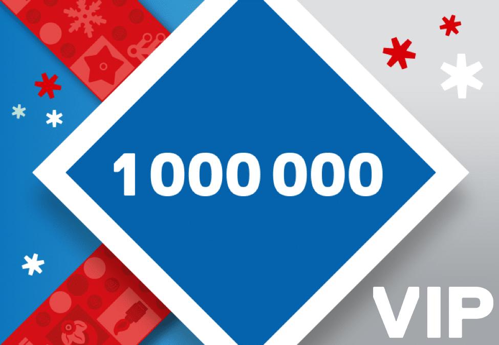LEGO 1.000.000 VIP Punkte Verlosung zum Black Friday