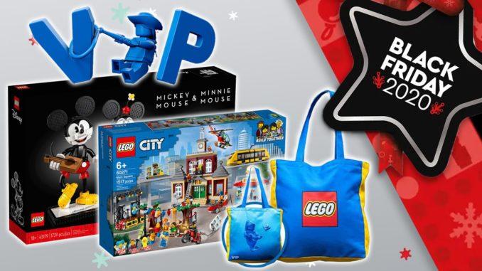 LEGO VIP Sale Black Friday Tag 2 und 3