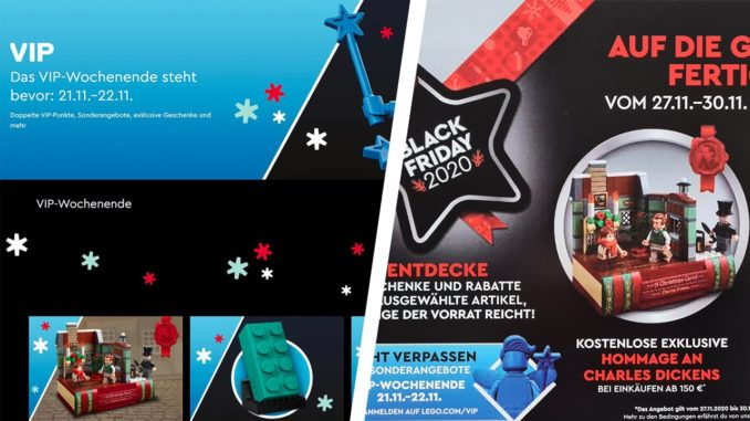 LEGO VIP Wochenende Vs Black Friday