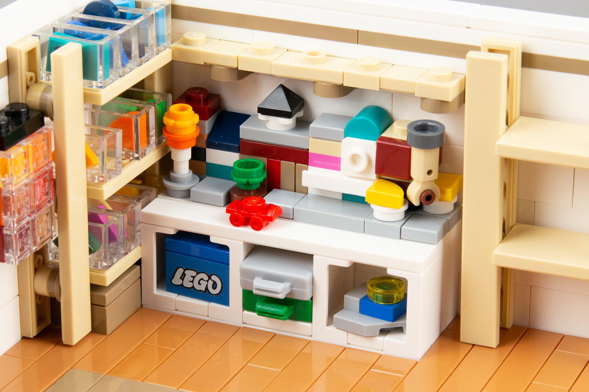 Moc Stonewars LEGO Zimmer Modular Buildings