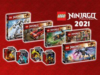 Ninjago 2021 Neuheiten Overlord Drache