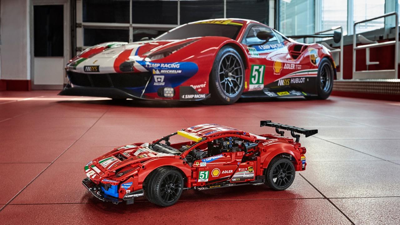 Lego Technic 42125 Ferrari 488 Gte Offiziell Mit Bildern Vorgestellt