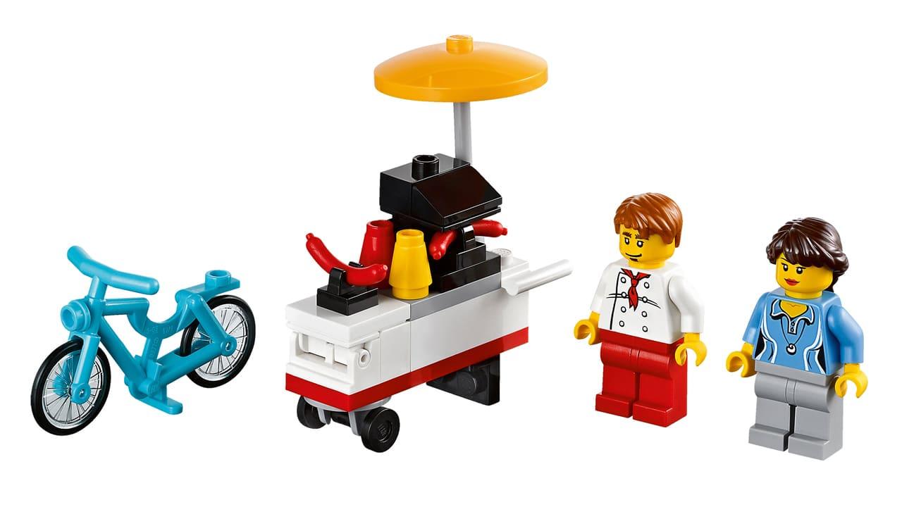 LEGO 40078 Hotdog Stand