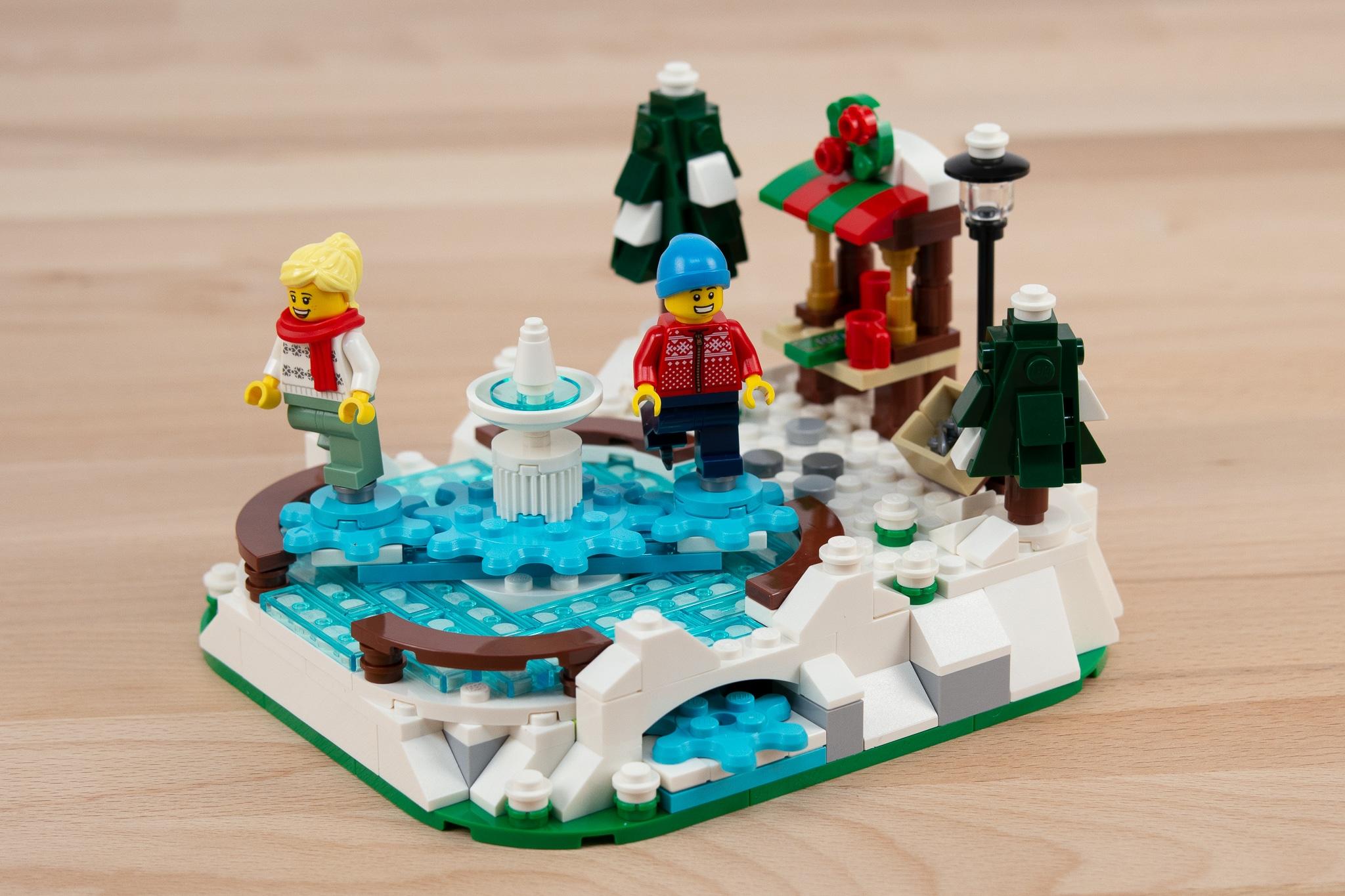 LEGO 40416 Eislaufplatz Stonewars Review (23)
