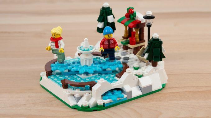 LEGO 40416 Eislaufplatz Stonewars Titelbild