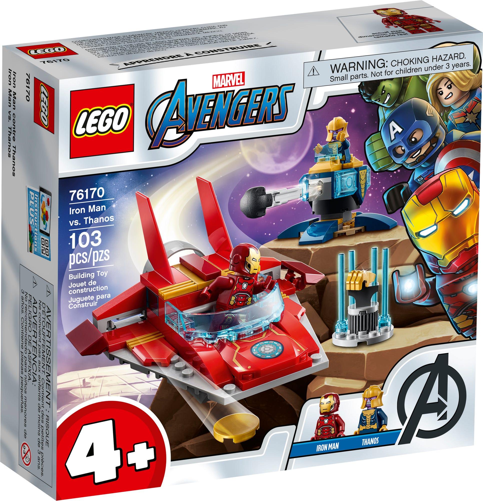 LEGO 76170 Iron Man Vs Thanos (2)