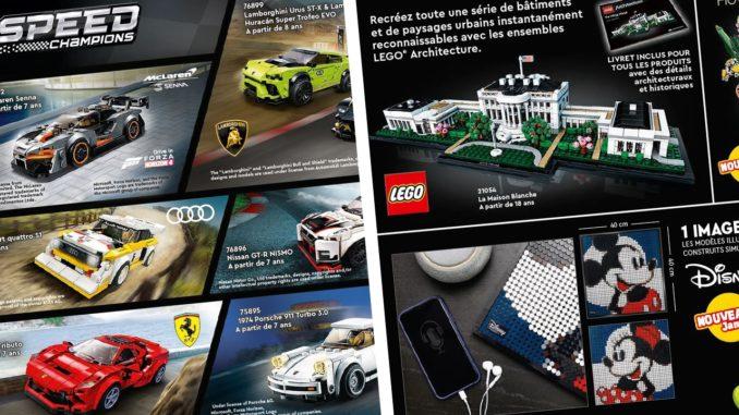LEGO Architecture &Speed Champions 2021