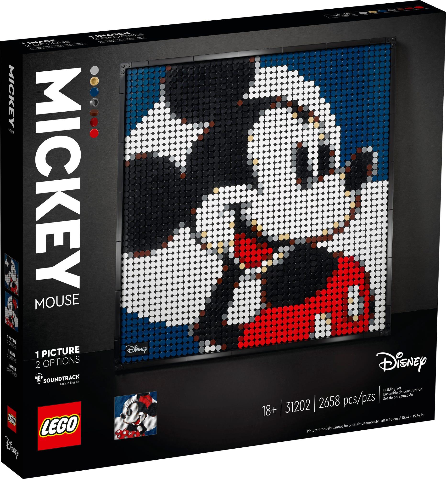 LEGO Art 31202 Mickey Minnie (2)