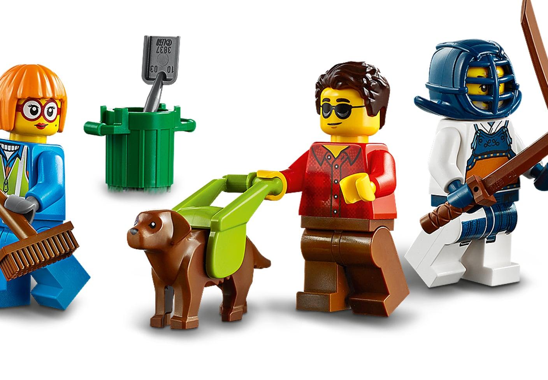 LEGO Blindenhund Assistenzhund