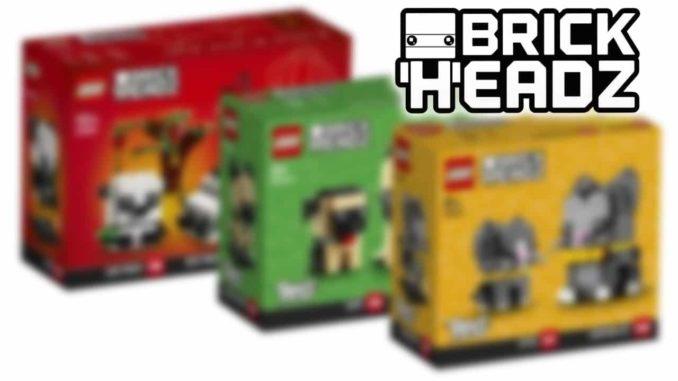 LEGO Brickheadz 2021