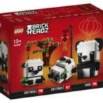 LEGO Brickheadz 40466 Chinese New Year Pandas
