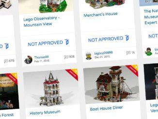 LEGO Bricklink Adp Ideas Entwürfe